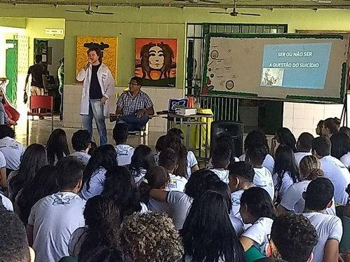 Escolas realizam atividades de prevenção ao suicídio