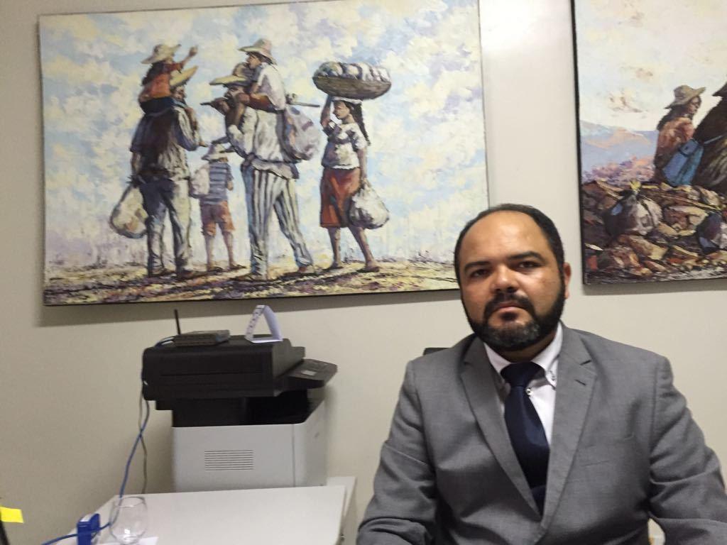 _Promotor Rômulo Cordão (Foto: 180graus)