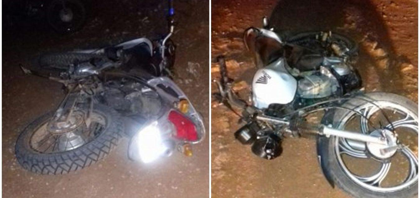 Acidente entre motos em estrada vicinal deixa 2 mortos 4f95b1d2a5c3c