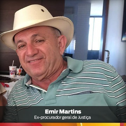 Ex-procurador-geral de Justiça Emir Martins