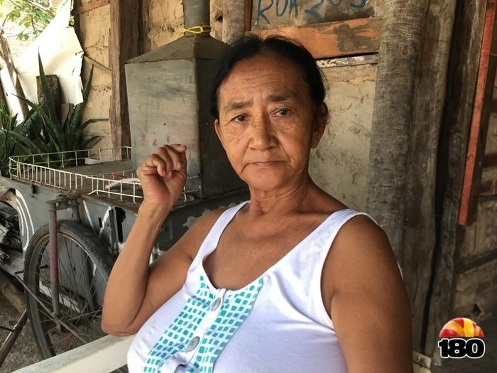 Dona Maria Sebastiana espera dias melhores para família