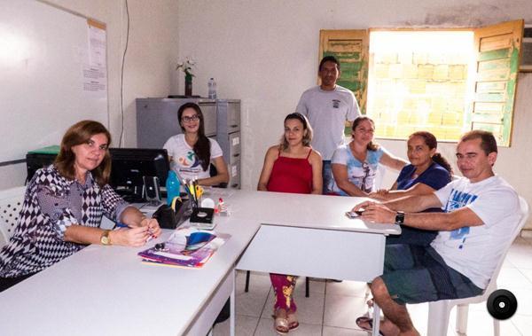 Equipe do SCFV de Cocal