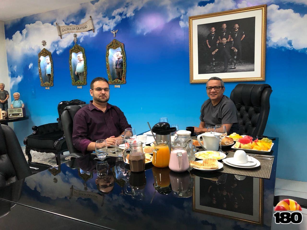 Hielbert Ferreira e Dr Helder Eugênio