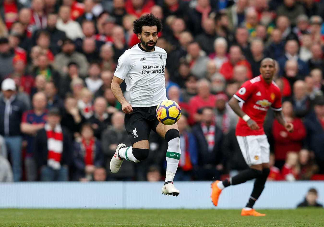 1º Mohammed Salah, Liverpol: 88,1 milhões de euros -> 162,8 milhões de euros