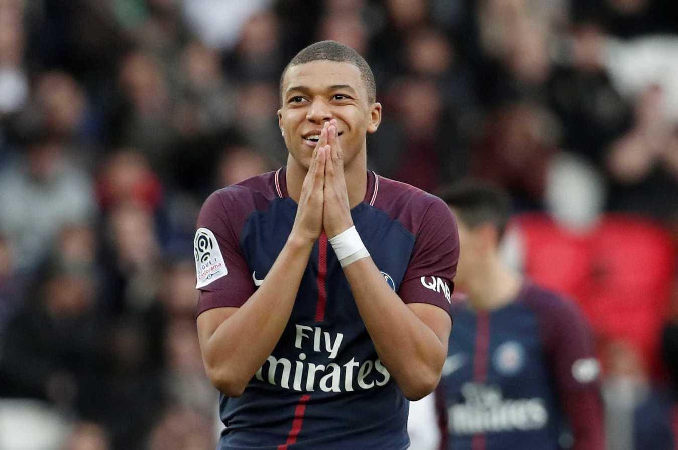 4º Kylian Mbappé, PSG: 133,8 milhões de euros -> 188,5 milhões de euros
