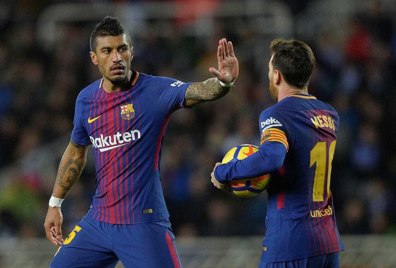 7º Paulinho, Barcelona: 10 milhões de euros -> 52,4 milhões de euros