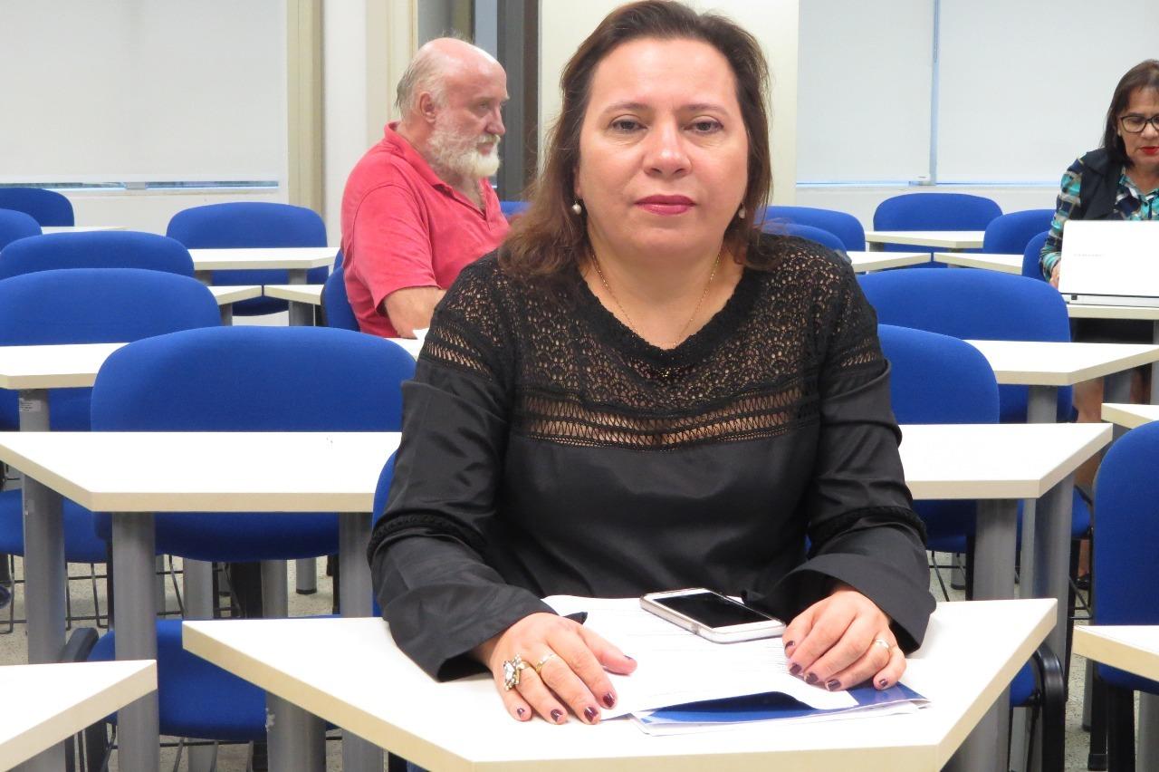 Conselheira relatora do caso, Waltânia Alvarenga