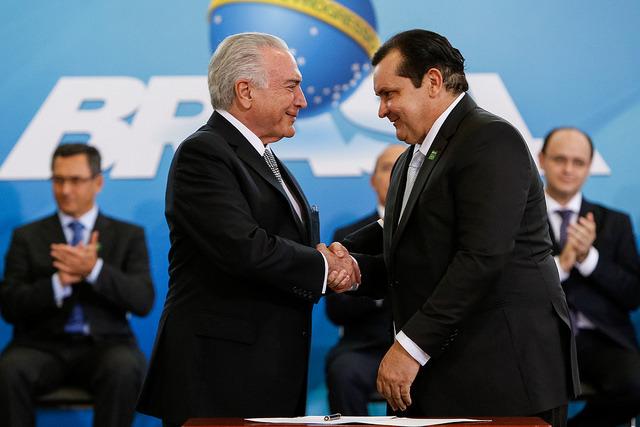 Registro da posse do piauiense Pádua Andrade, no Ministério da Integração Nacional