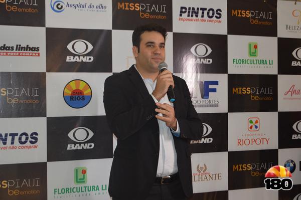 Diego Trajano, diretor da Band Piauí