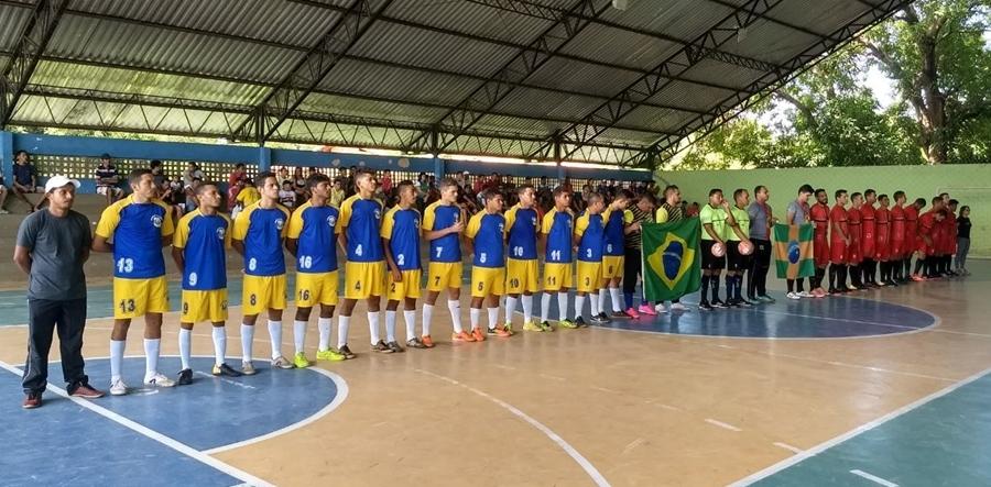 União sediou jogos da Taça José de Freitas de Futsal 629190d5ff62d