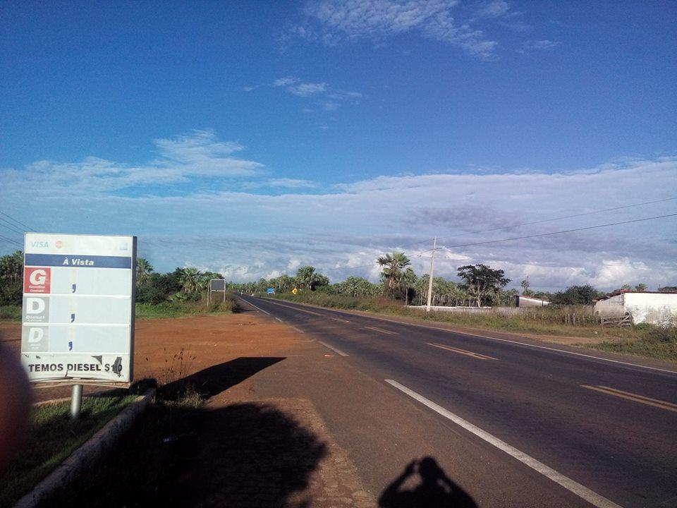 BR-343, em Campo Maior