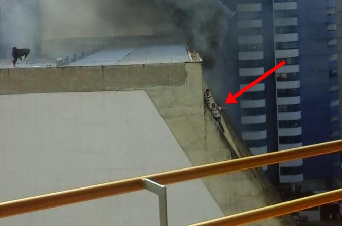 Resultado de imagem para incendio no rio poty hotel