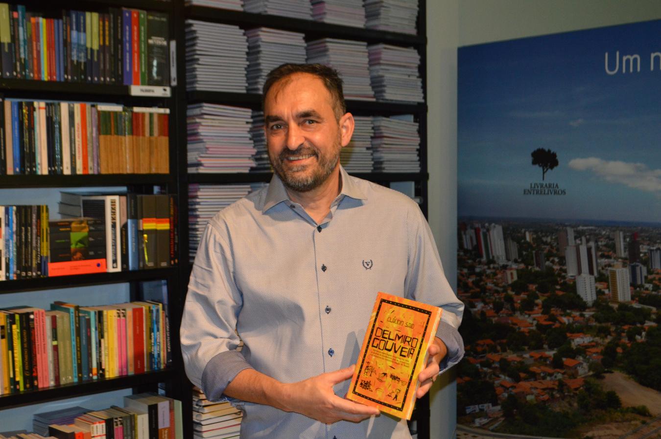 86db698158 Cláudio Said lança o livro  Delmiro Gouveia  em Teresina