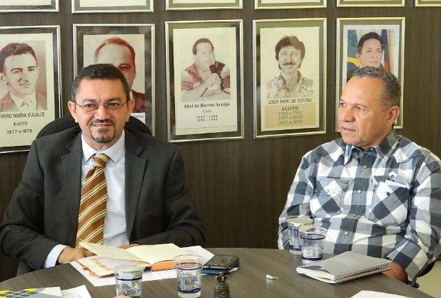 Padre Walmir Lima e o vice, Edilson Lima