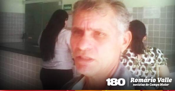 Antônio Custódio registra BO na Delegacia de Polícia
