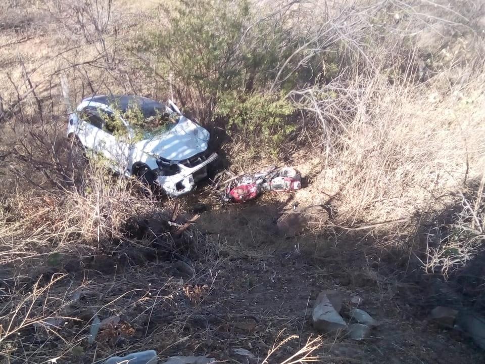 BR-316  colisão entre carro e moto entre cidades do Piauí deixa ... 786af26a2826a