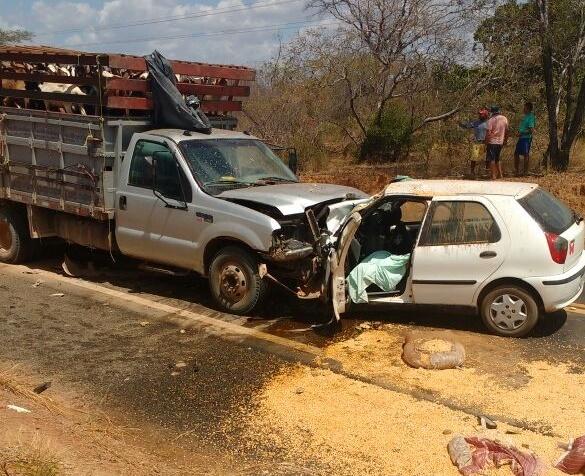 Resultado de imagem para acidente na br 316 homem morre elesbão