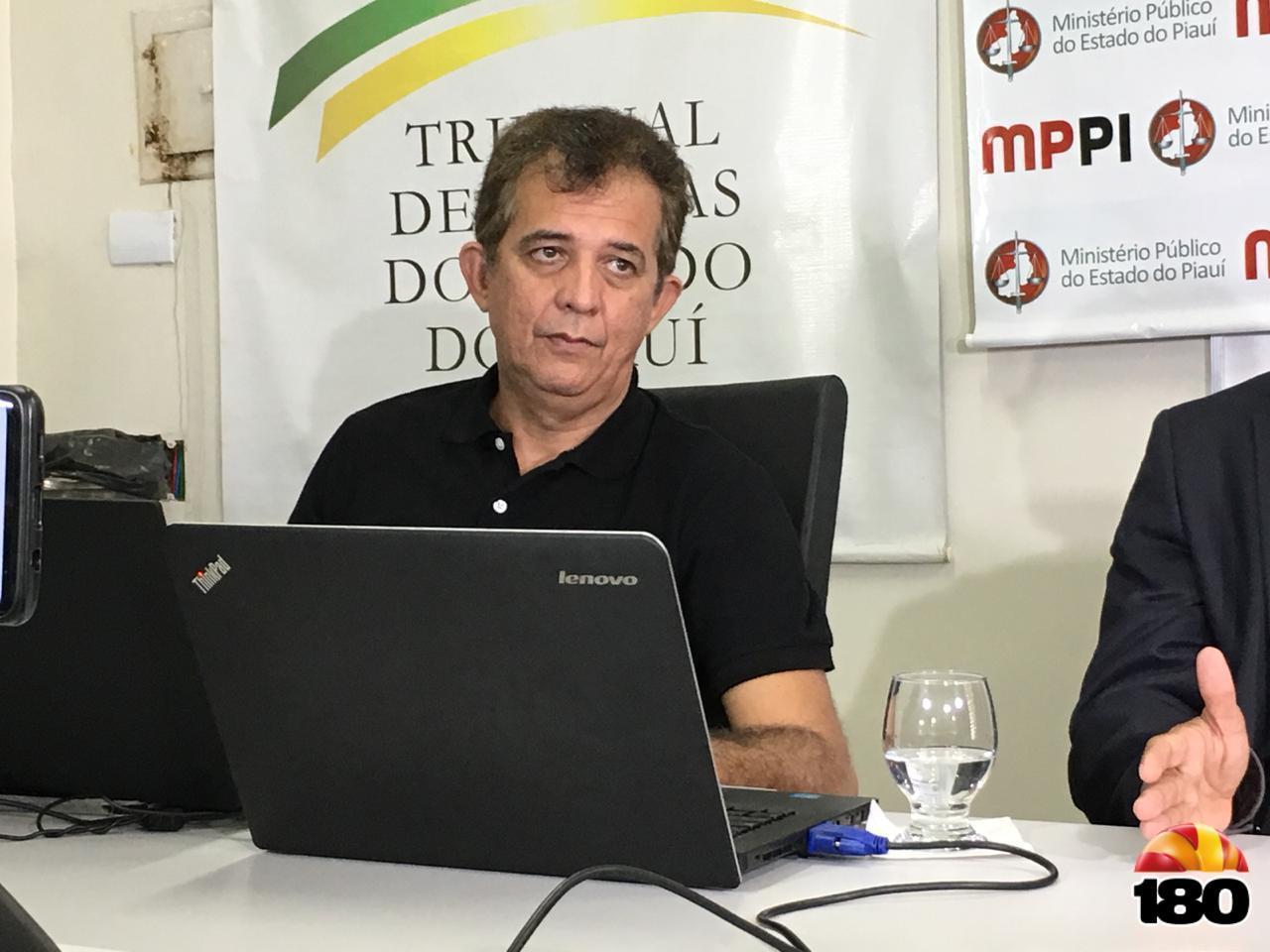 Inaldo Oliveira, auditor de controle externo do TCE