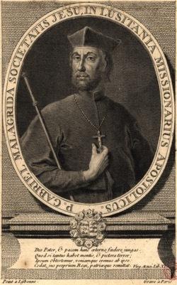 Ilustração do Padre Jesuíta Gabriel Malagrida