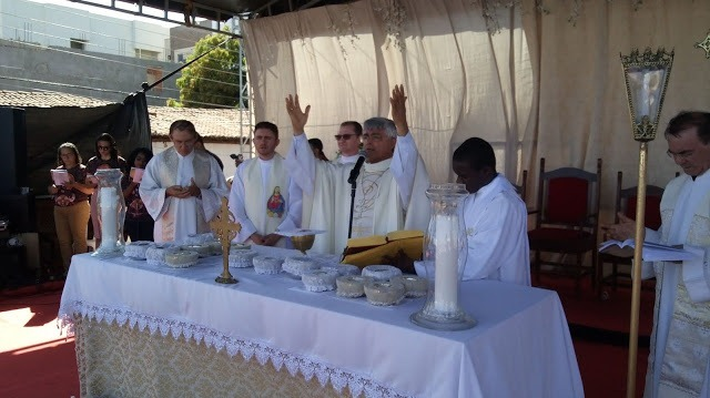 Missa foi presidida pelo Bispo Diocesano
