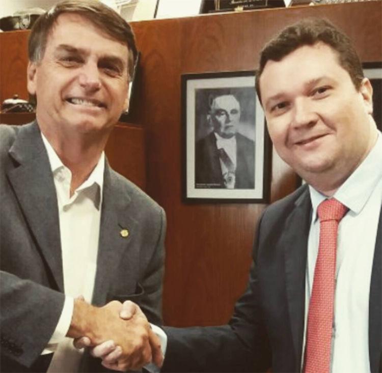 Sérvio seria no Piauí a face de um eventual governo de Jair Bolsonaro