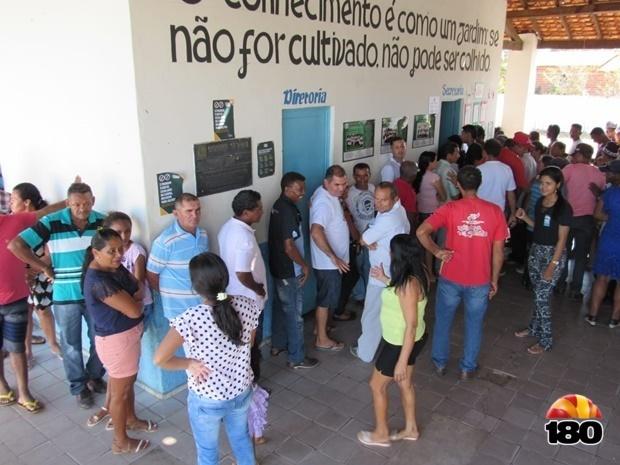 Votação em Campo Largo do Piauí