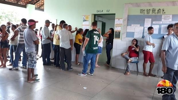 Votação em Santa Cruz dos Milagres