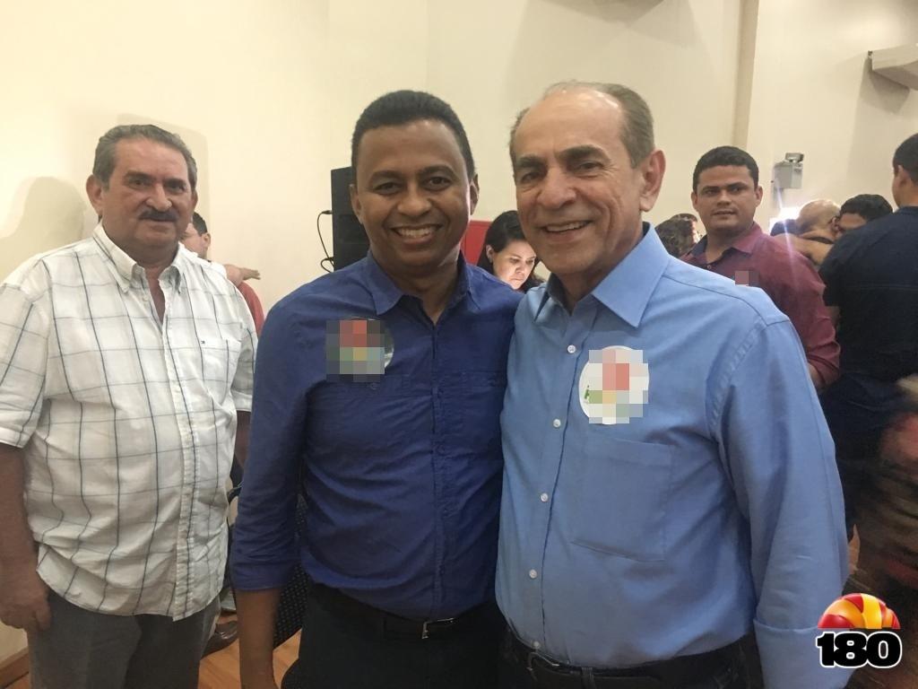 Dr. Francisco Costa ao lado do deputado Marcelo Castro, eleito para senado nessas Eleições 2018