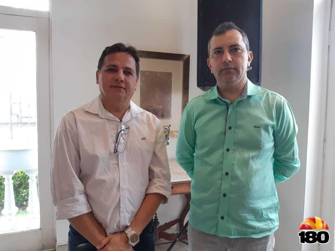 Everardo Moura e Idílio Moura