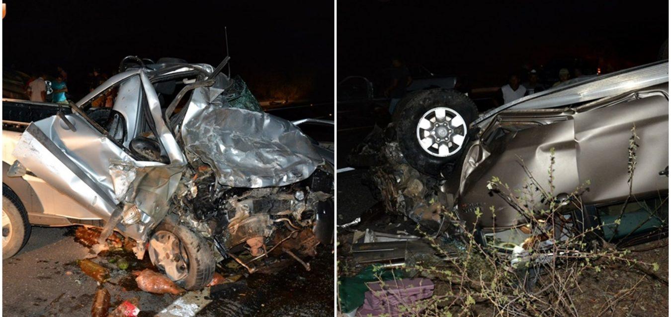 Colisão frontal entre dois carros na BR-407 deixa uma pessoa morta e ... c05c2aef3bf0e