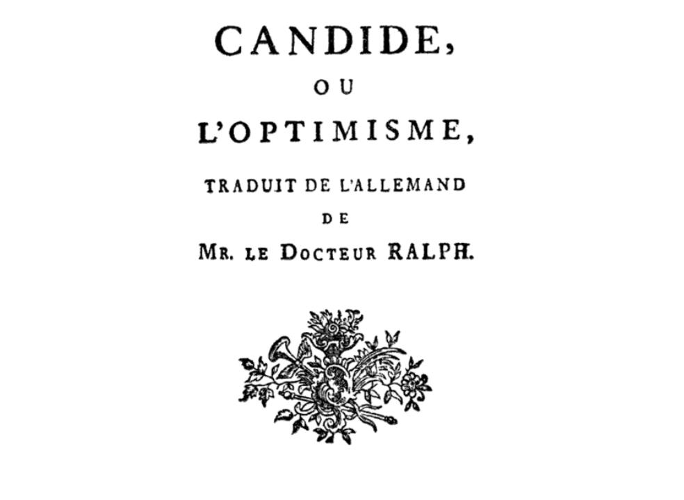 O ministro exalava otimismo, assim como o personagem do clássico de Voltaire