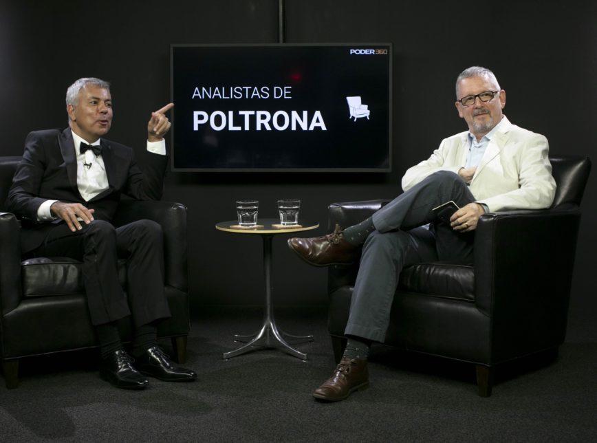Os analistas Mario Rosa (à esq.) e Alon Feuerwerker