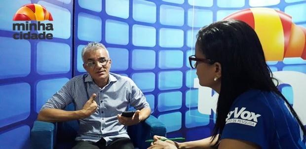 Prefeito Paulinho fala sobre mudanças na cidade por causa do parque solar