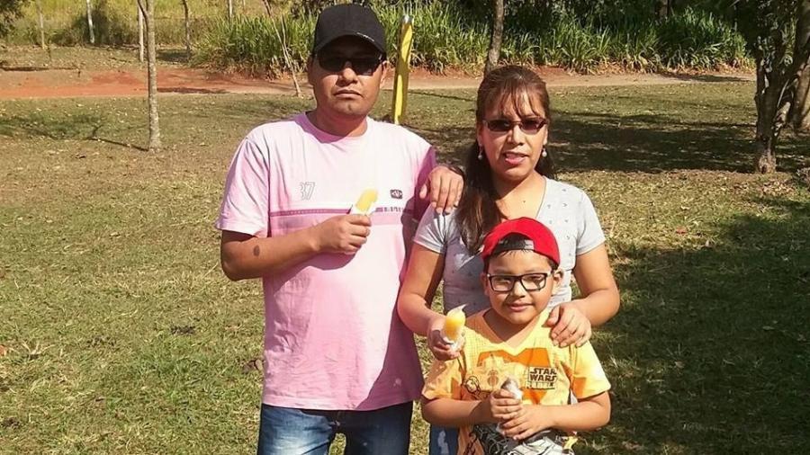 O casal boliviano Jesus Reynaldo Condori Sanizo, Irma Morante Sanizo e o filho Gian Abner Morante Condori foram encontrados mortos na última terça (08/01)