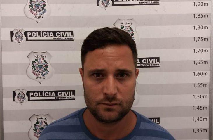 Pablo Coutinho Rangel foi autuado pelos crimes de extorsão, e usurpação de função pública