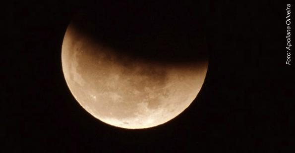 f19a572a8 Eclipse total da Lua acontecerá na noite de 20 para 21 de janeiro
