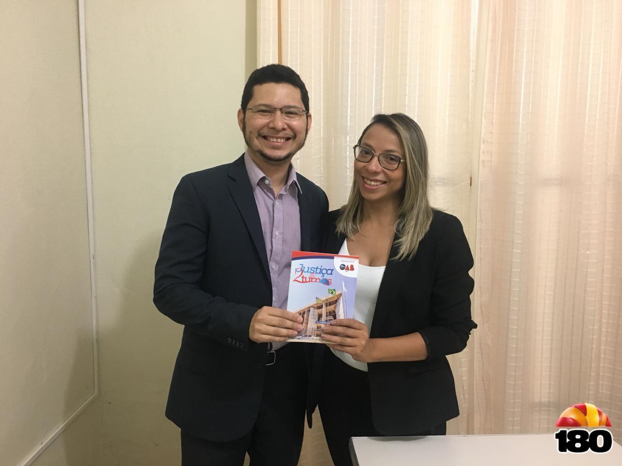 Dra. Anne com Dr. Diêgo Martins.