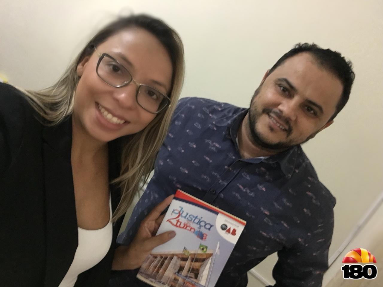 Dra. Anne e Gaelsimar Pinheiro