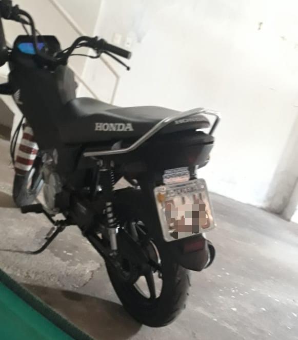 Motocicleta multada pela Gtrans