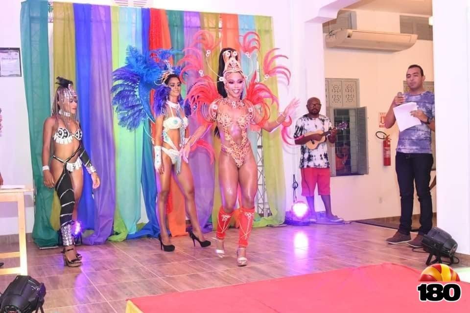 Candidatas a Rainha do Carnaval de Floriano