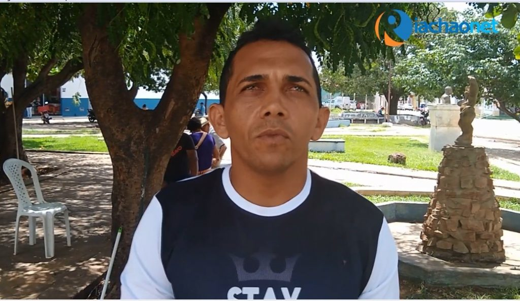 Mototaxista Michael Lima da Cruz Alves