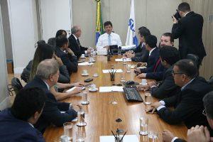Prefeito de Chapadinha esteve presente na reunião