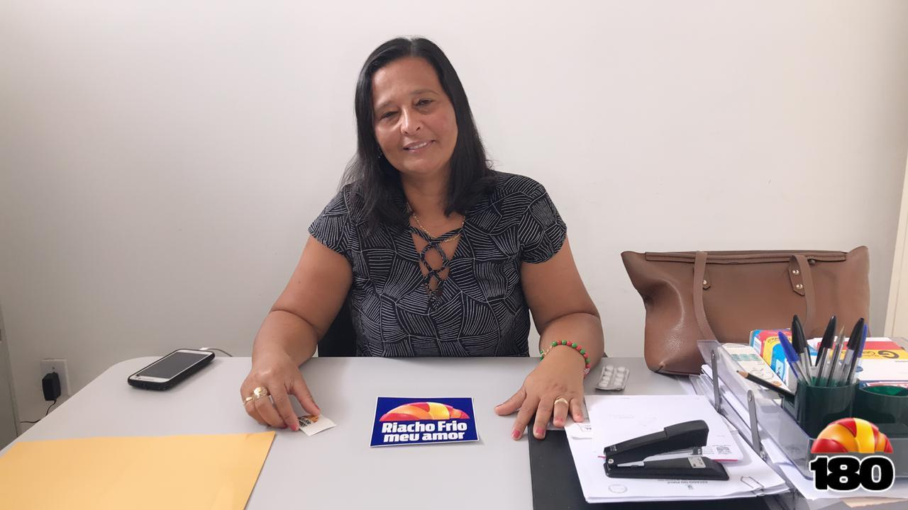 Secretária de Saúde Suelane Martinsda Cunha