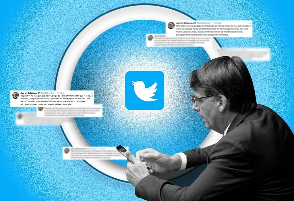 O governo é para bombar nas redes sociais
