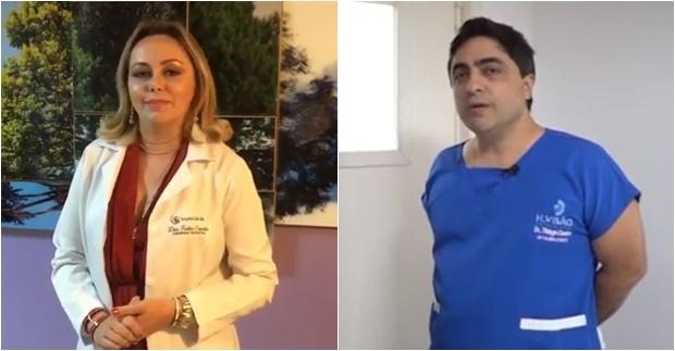 Kaline Carvalho e Thiago Castro