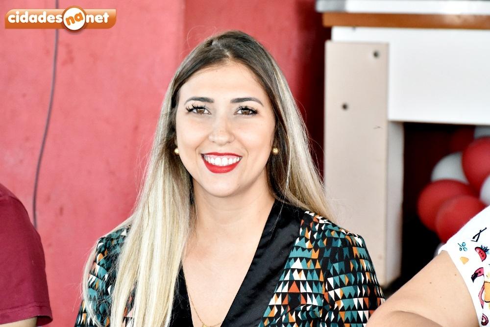 Secretária de Saúde, Rayara Carvalho