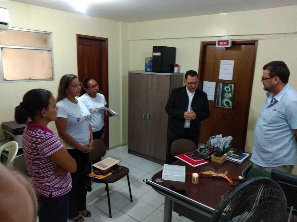 Visita do Bispo de Floriano aos Meios de Comunicação