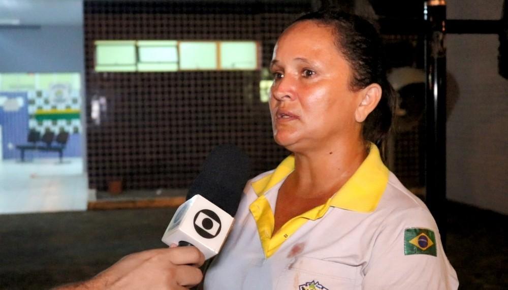 Eliete Maria Fontelene foi agredida à socos enquanto conduzia um jogo na UFDPar
