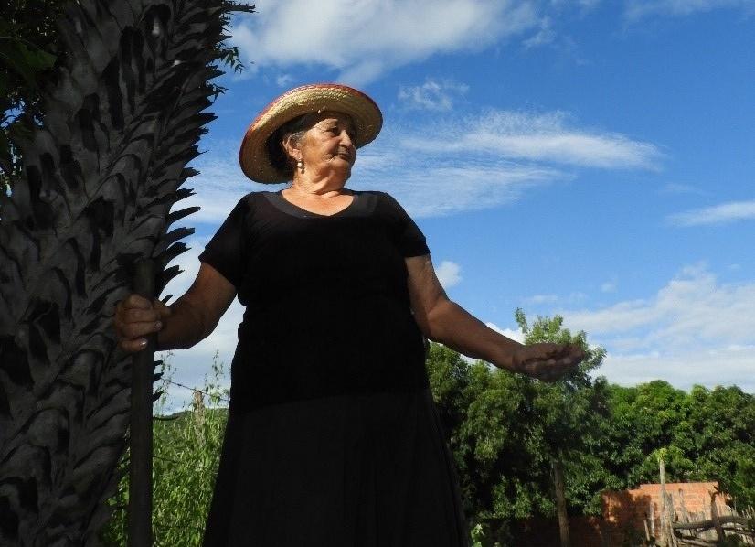 Teresinha de Jesus Machado, especialista local, coautora de pesquisa publicada em revista internacional