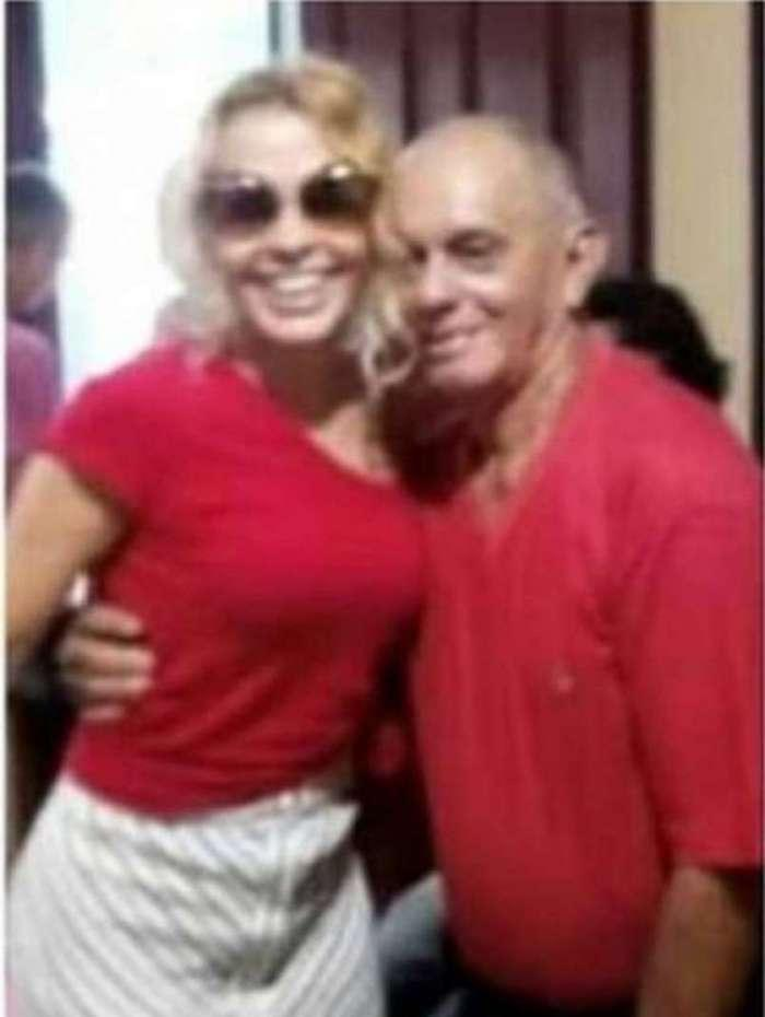 Joelma e o pai José Mendes